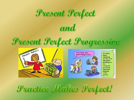 WWe use the Present Perfect to show a direct link with the present. WWe use it for something that happened in the past but when the present result.