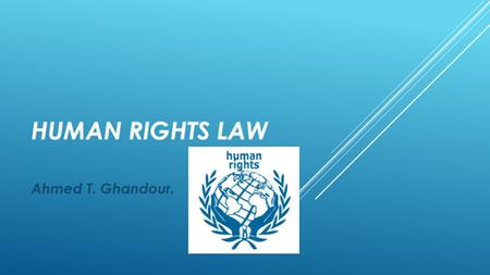 WHAT IS THE INTERNATIONAL COVENANT ON CIVIL & POLITICAL RIGHTS?