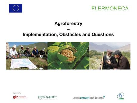 Agroforestry – Implementation, Obstacles and Questions.