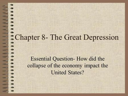 the great depression americas economic downfall Great depression, federal reserve, banking panics, financial crisis, contagion   richardson: collapse of united states banking system great depression   conglomerates – caldwell in middle america, the bank of the united states in  new.