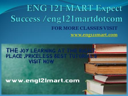 FOR MORE CLASSES VISIT www.eng121mart.com. ENG 121 Entire Course ENG 121 Week 1 Diagnostic Essay ENG 121 Week 1 DQ 1 Strengths and Weaknesses in Writing.