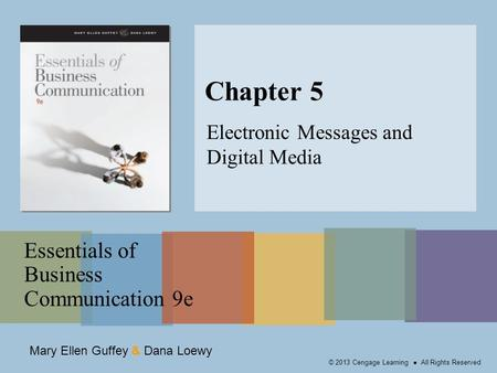 Electronic Messages and Digital Media