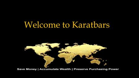 Welcome to Karatbars.