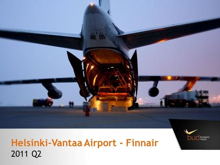 Helsinki-Vantaa Airport - Finnair 2011 Q2. Beyond transfer flow – Helsinki-Vantaa Airport, Finnair To other destinations: 16% Which Airline are you flying.