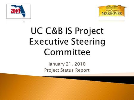 January 21, 2010 Project Status Report.  Introduction  Meeting Minutes Approval  Project Status Report  Other Business  Public Comments  Review.