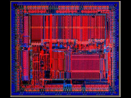 1. 2 MIPS Hardware Implementation Full die photograph of the MIPS R2000 RISC Microprocessor. The 1986 MIPS R2000 with five pipeline stages and 450,000.