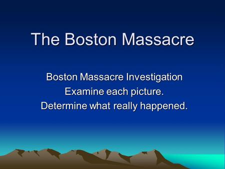 an analysis of what really happened at the boston massacre by thomas zygmunt Boston massacre the boston the bloody massacre engraving with analysis questions students when you are discussing what really happened that day in boston.