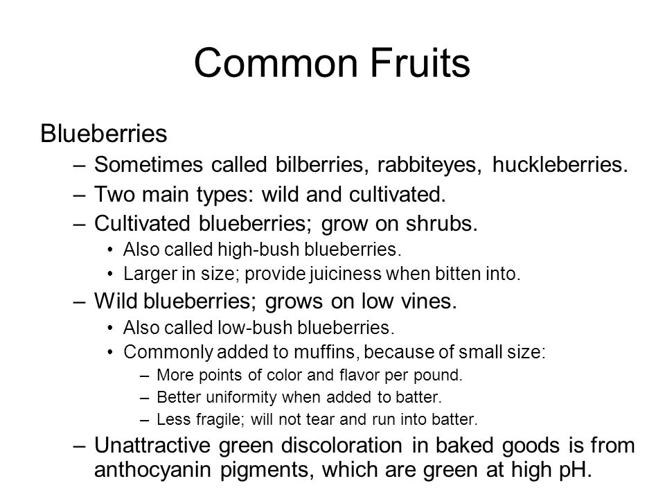 Fruit Ripening Ripening involves a series of changes.