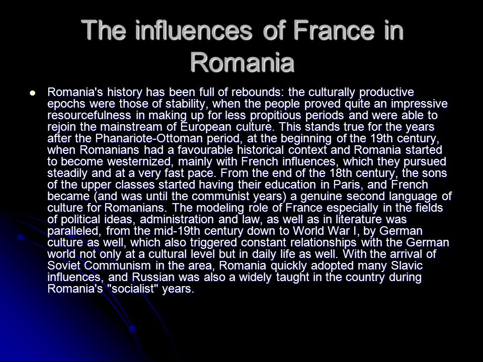 Historical connections between Romania and Italy: historical personalities.