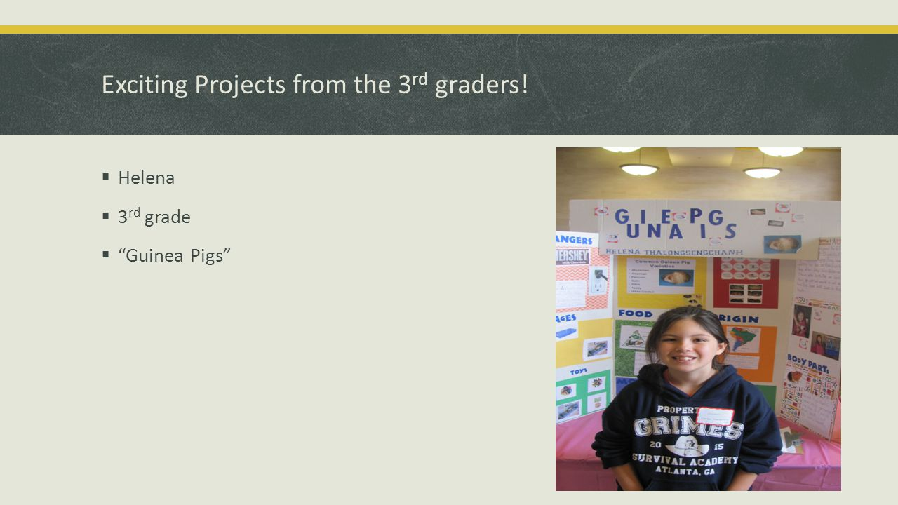 Exciting Projects from the 3 rd graders!  Mitchell  3 rd grade  Swimming