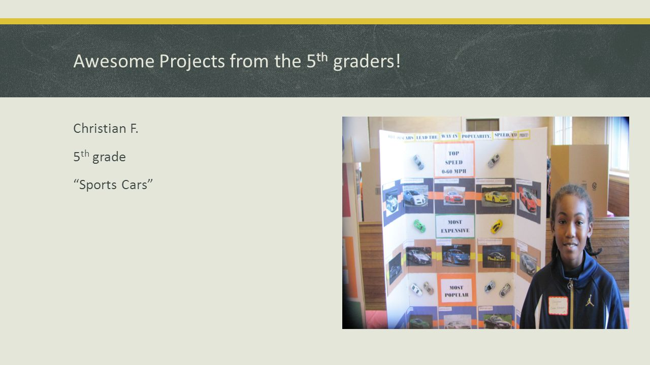 Awesome Projects from the 5 th graders! Rose 5 th grade Gaming