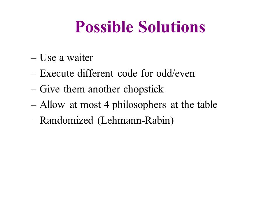 Summary Concurrency can cause serious problems if not handled correctly.