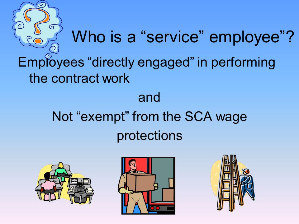 EXECUTIVE - manager, primarily supervises employees  PROFESSIONAL - 4 year degree  ADMINSTRATIVE - business policy advisor  must be SALARIED - not hourly waged EXEMPT EMPLOYEES http://www.dol.gov/esa/regs/compliance/whd/fairpay/main.htm For Fact Sheets with additional information
