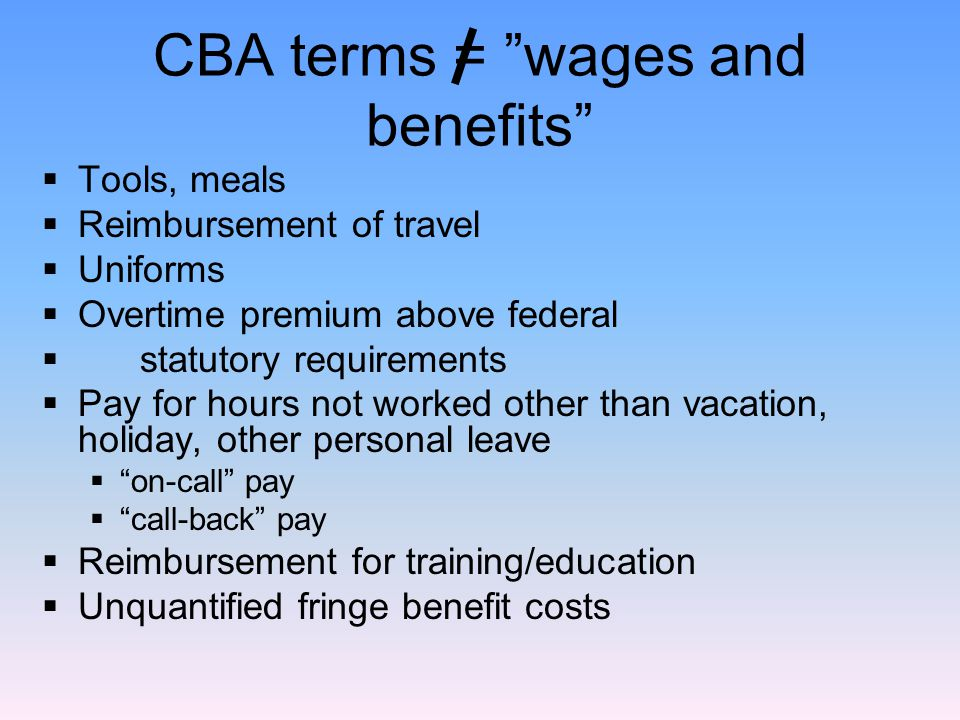  All actual wages paid (including bonuses, and rates at end of contract period.
