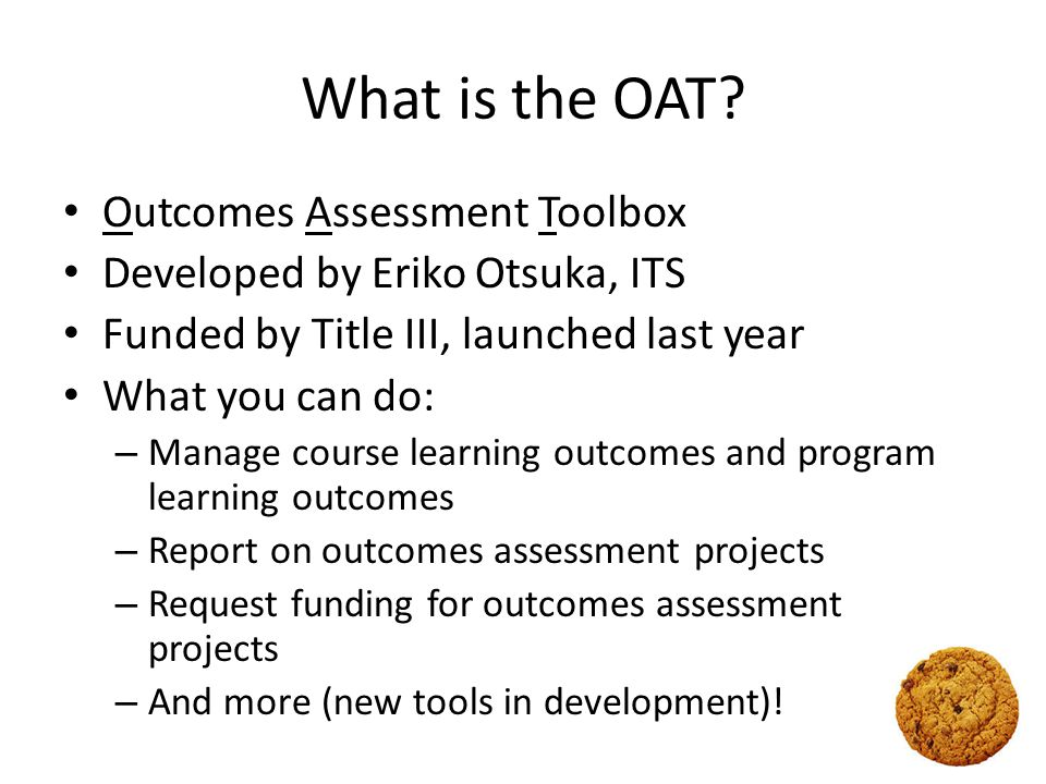 What is the OAT's purpose.