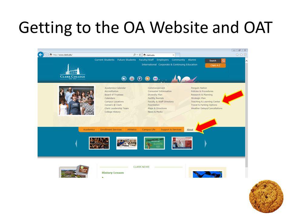 Links Teaching and Learning Center > http://www.clark.edu/tlc/ Outcomes Assessment > http://www.clark.edu/tlc/outcome_assessment/ Forms and Applications > http://www.clark.edu/tlc/outcome_assessment/forms-apps.php OAT (Outcomes Assessment Toolbox) > https://apps.clark.edu/OutcomesAssessmentToolbox/Default.aspx