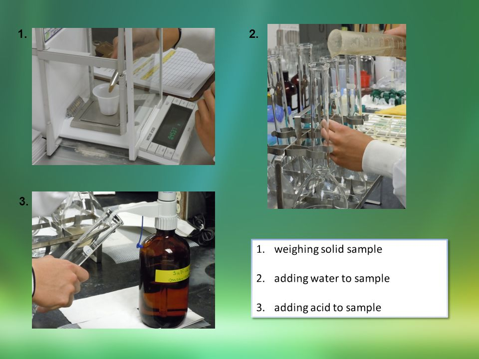 digesting samplesdigestion almost complete completely digested sample pH adjusted digestate