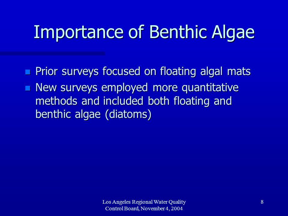 Los Angeles Regional Water Quality Control Board, November 4, 2004 9 Wintertime Impairment.