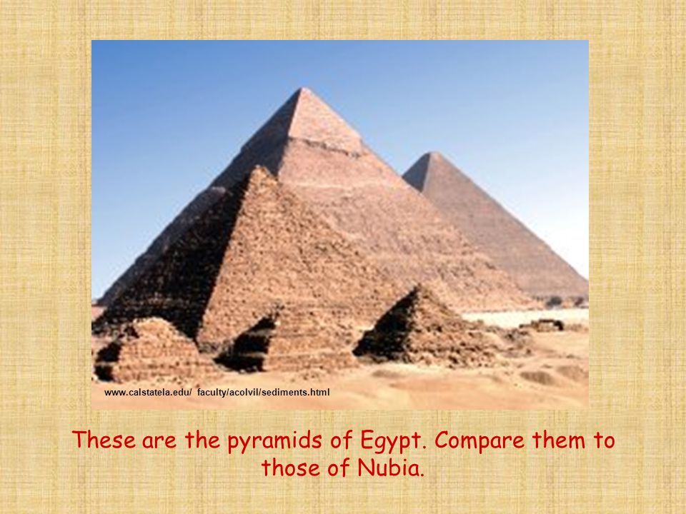 This is one of the biggest pyramids in Egypt.The pyramid of Khufu.
