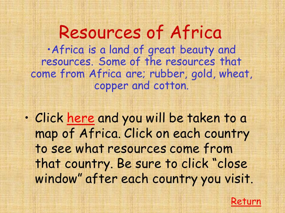 Early Africa The earliest fossils we have found of creatures considered human beings have come from Africa.