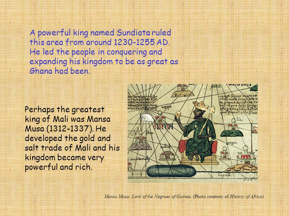 Mansa Musa was a Muslim, meaning he followed the religion of Islam.