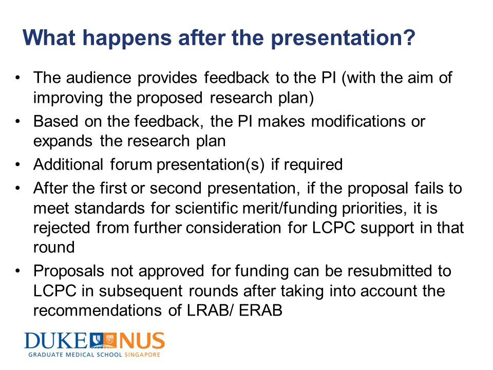 How are proposals assessed.