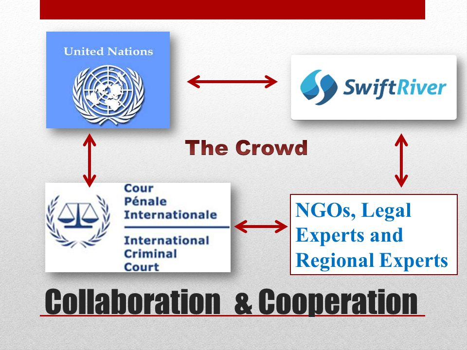 Ideological support from the UN is essential