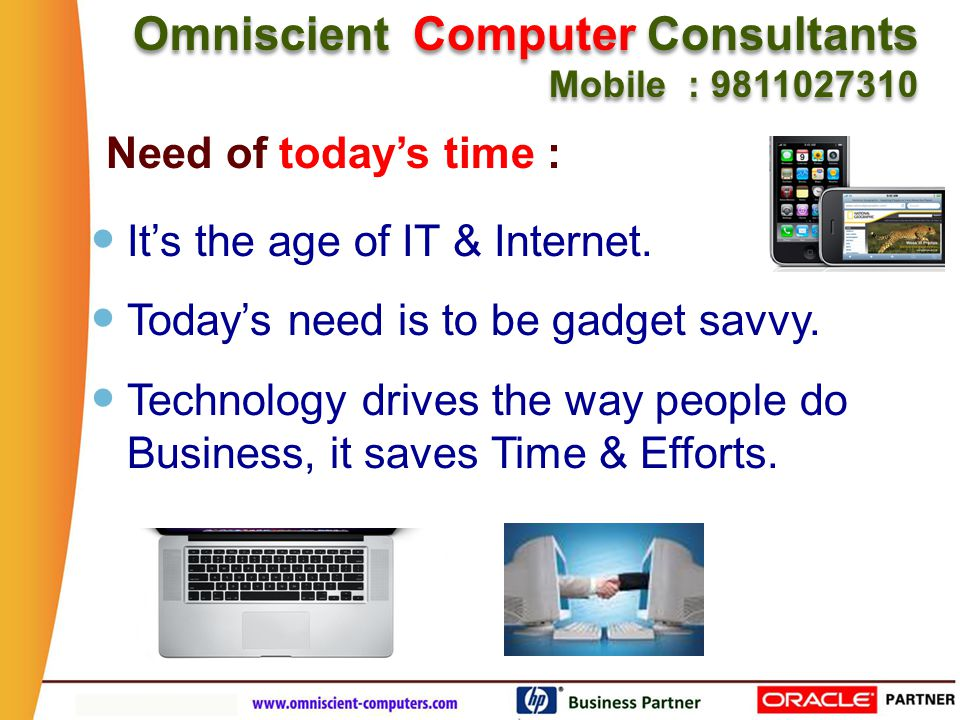 Our Software caters to the Needs of today's Busy Doctors Omniscient Computer Consultants Mobile : 9811027310 Omniscient Computer Consultants Mobile : 9811027310