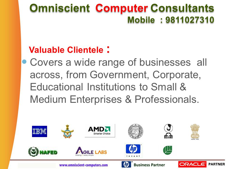 What are the Needs Omniscient Computer Consultants Mobile : 9811027310 Omniscient Computer Consultants Mobile : 9811027310 of a Busy practicing Doctor ?