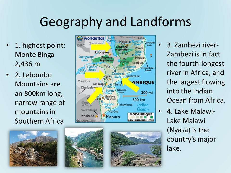 Geography and Landforms 5.