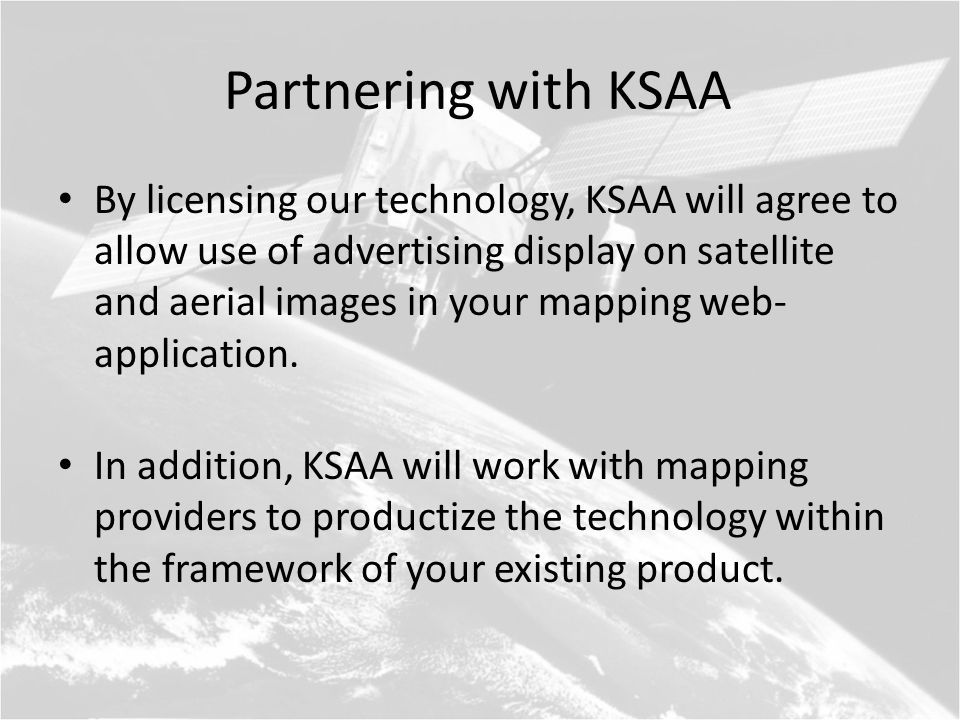 Next Steps for KSAA Evolve our prototype into a fully-realized consumer-facing product with easy-to-use advertiser tools.