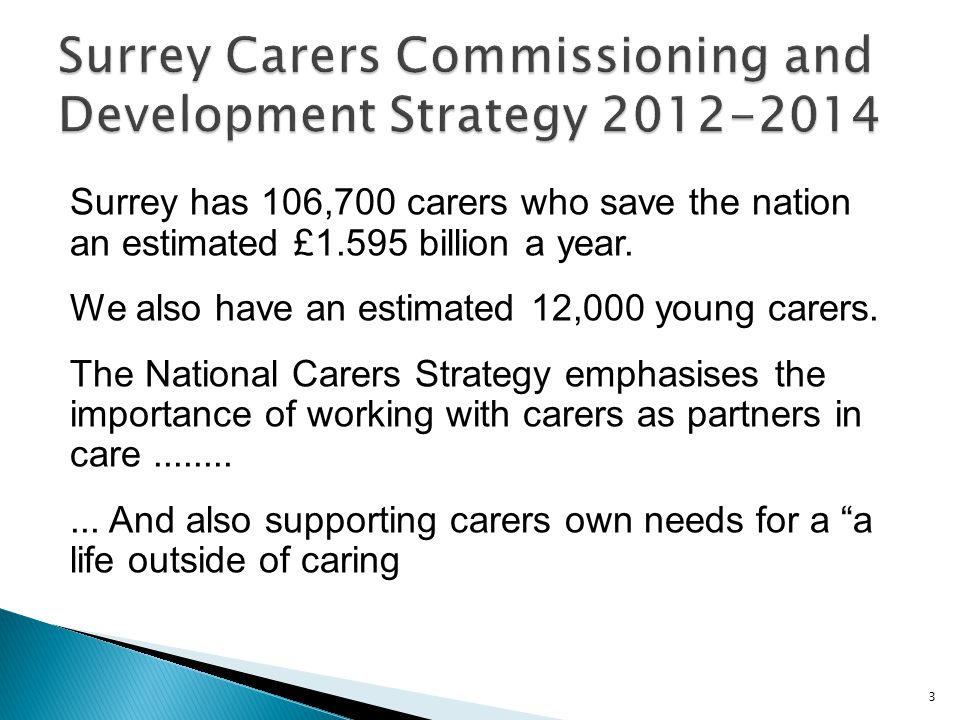 New stronger duty to assess and provide services to meet carers needs.