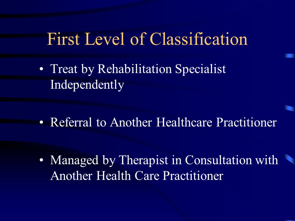 Immediate Care of the Injured Spine Physician Evaluation Early Care –Rest/Activity –Ice/Heat –Modalities for Pain Control –X-ray –Medications