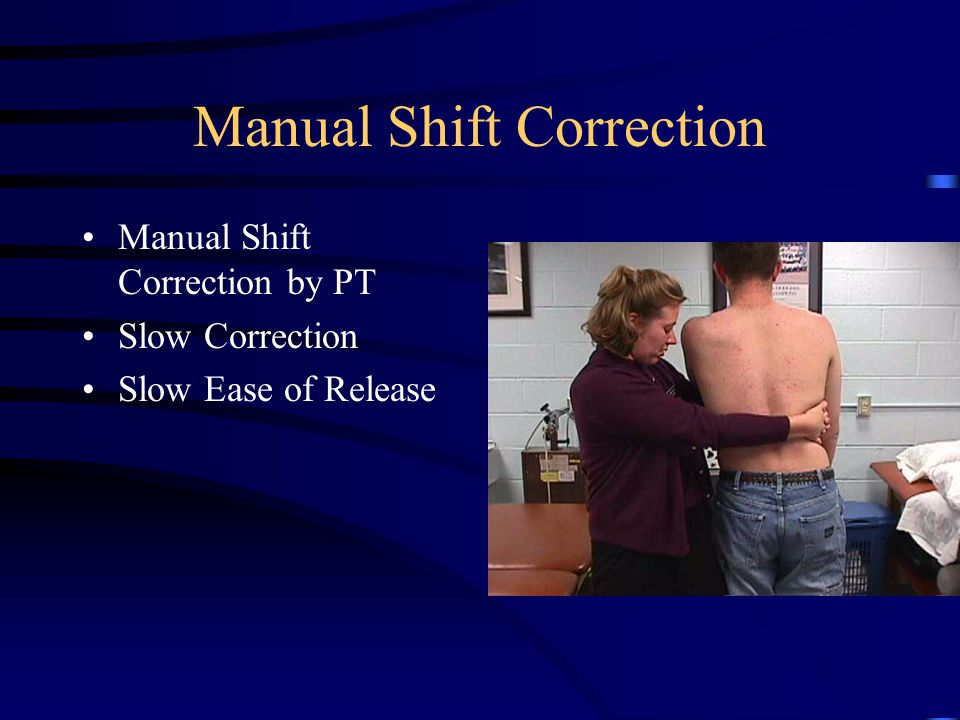 Postural Corrections Self Correction Positioning for Electrical Stimulation
