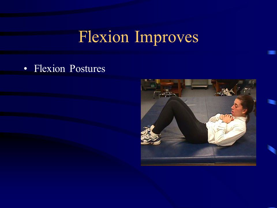 Flexion Mobilizations SNAGs with Belt