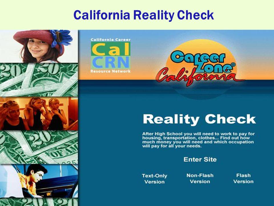 California Reality Check www.californiarealitycheck.com 3.