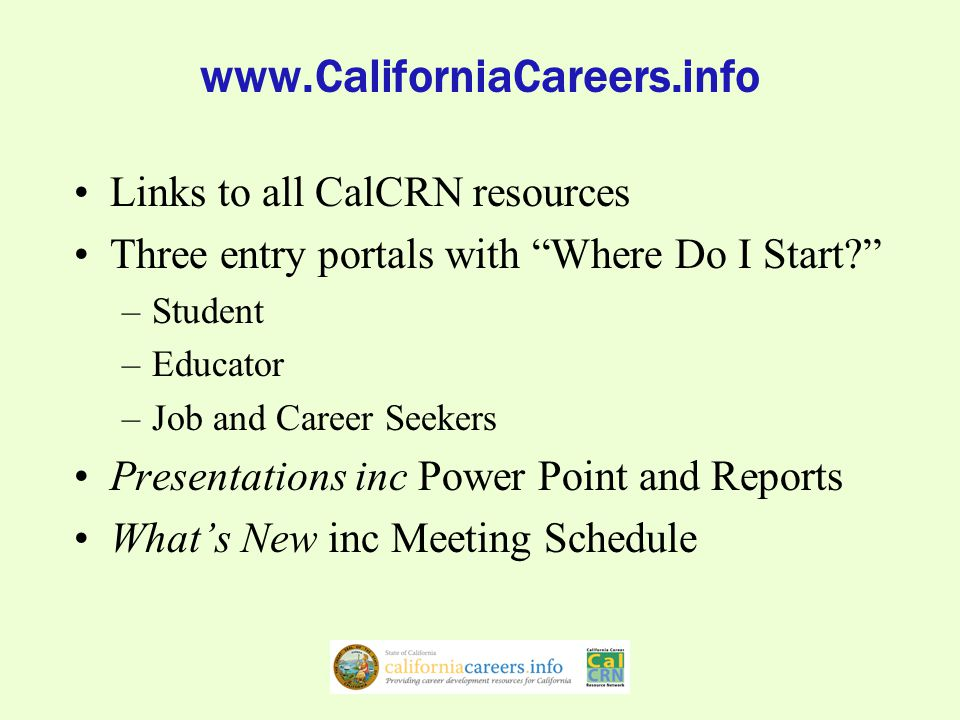 California CareerZone