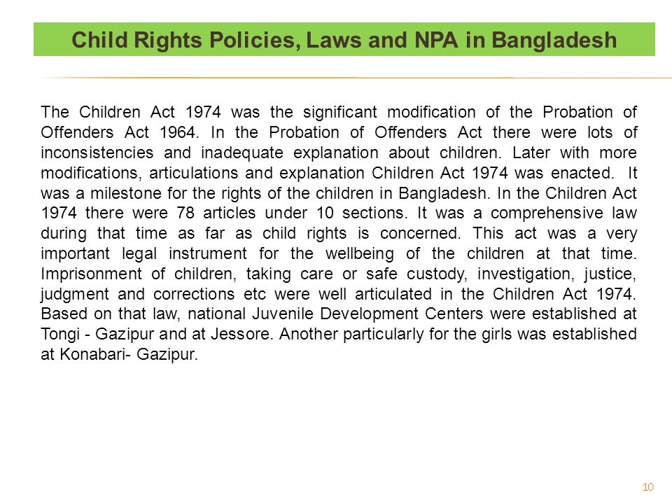 Policies, Laws and NPA : Contd.