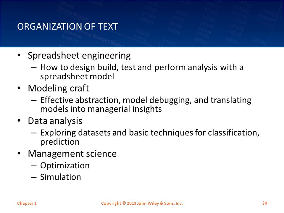 SUMMARY OF TEXT PHILOSOPHY Modeling is a necessary skill for every business analyst.