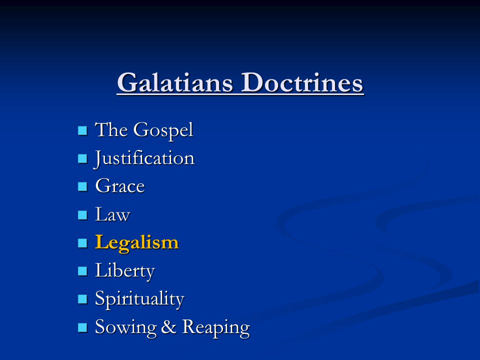 Legalism I.Introduction/Background II. Description/Definition III.