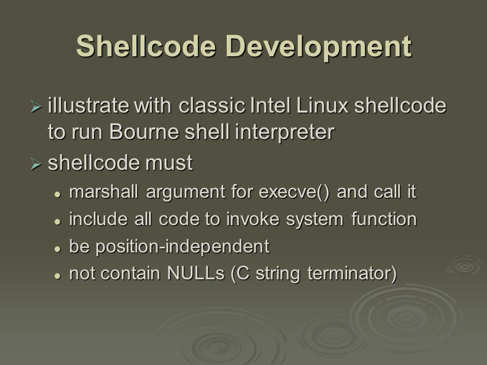 Example Shellcode