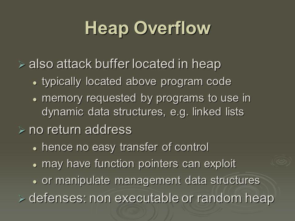 Heap Overflow Example