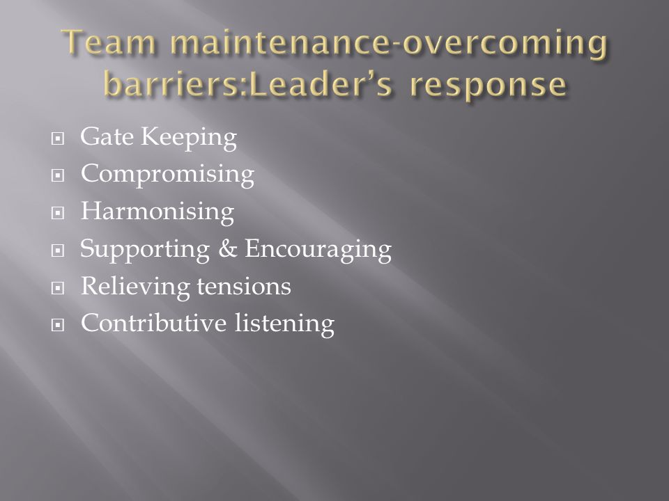 What would you identify as essential qualities & behaviours of effective leaders.