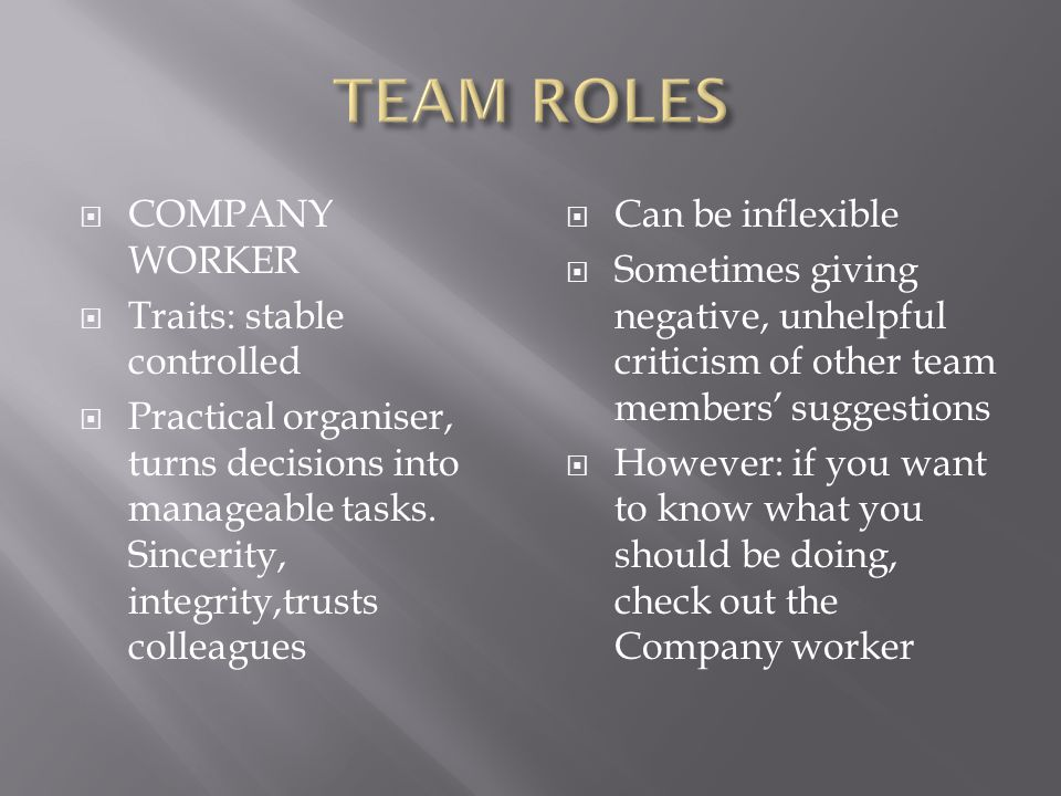 Traits: Stable, Dominant, Extrovert instinctively trusts people, free from jealousy.