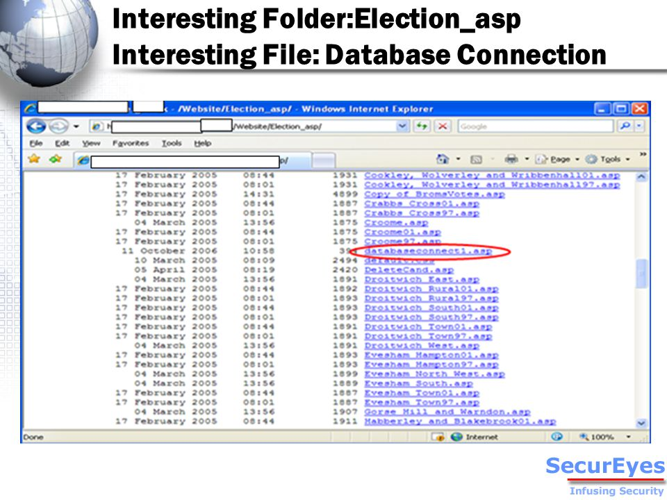 Backup File of Election_asp: Election_asp.zip