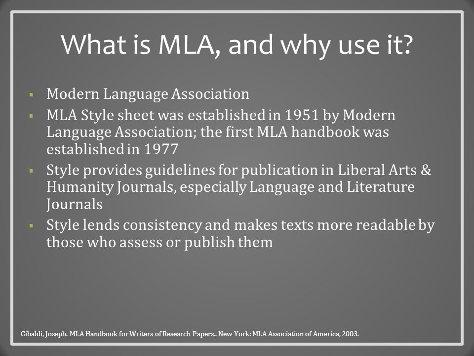 An MLA Cover Page  Do not make an MLA Title Page unless specifically requested to by your professor.