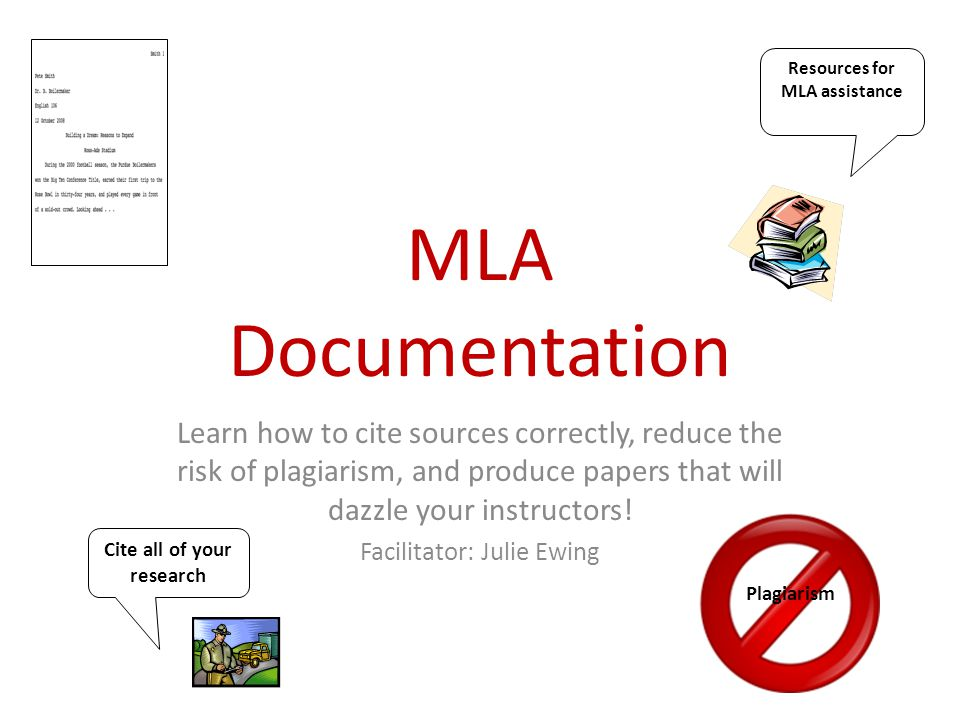 Why do we document our sources?