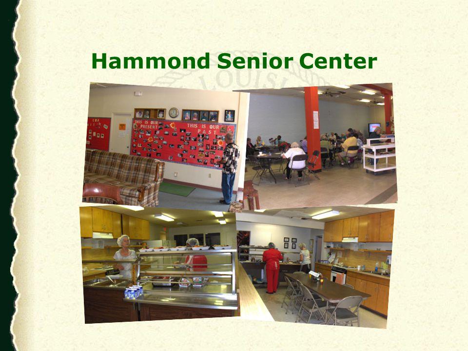 Hammond Senior Center Computer Lab