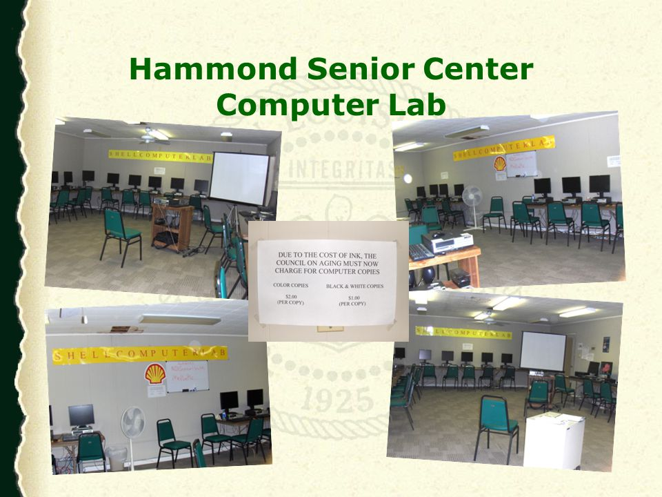 Summer 2010 - Basic Computer Class Pilot program Basic computer skills Basic Internet searching Evaluation of Internet sources E-mail