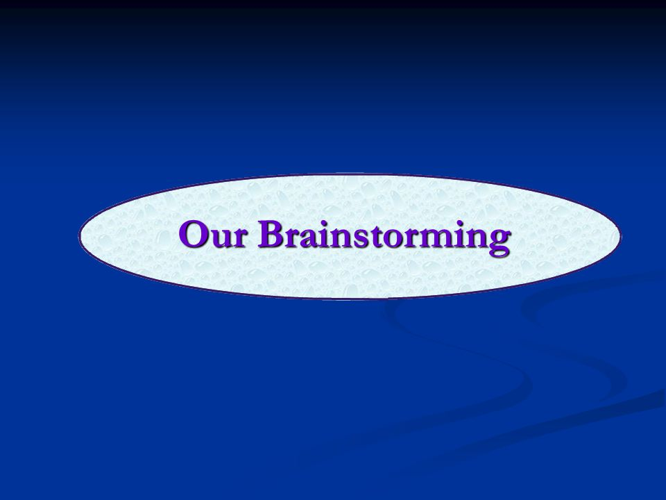 Our Brainstorming – Questions Asked How should we arrange information – according to form or according to topic.